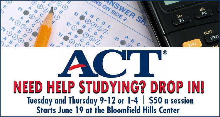 ACT Test Prep Michigan